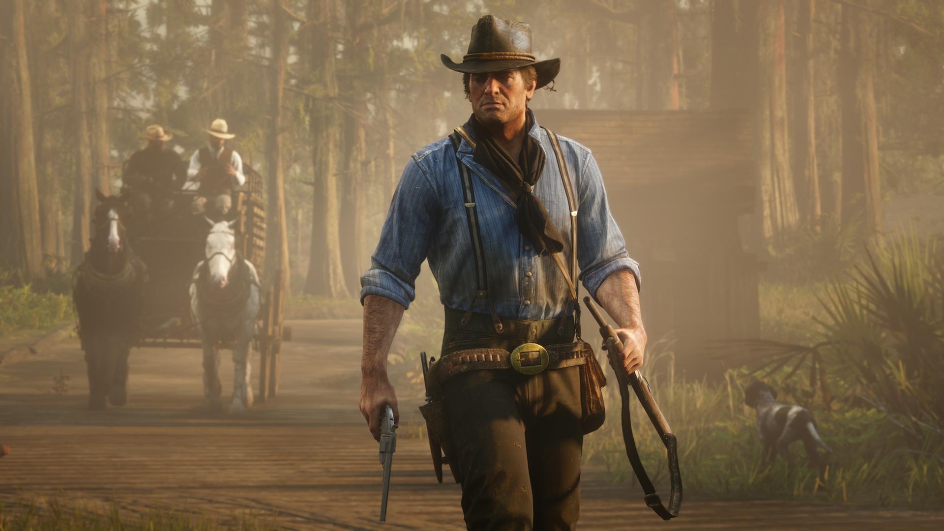 เนื้อเรื่องและปริศนา Red Dead Redemption 2